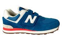 New Balance Blauwe  Sneakers 574 Klittenband