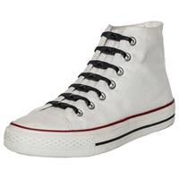 14x Shoeps Elastische Veters Zwart - Sneakers/gympen/sportschoenen Elastieken Veters - Hulp Bij Veters Strikken