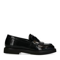 Zwarte loafers van lakleer