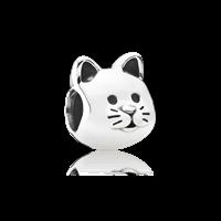 Pandora bedel Zilver 'Nieuwsgierige kat' 791706