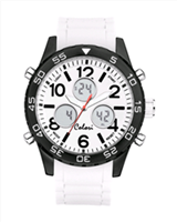 Colori Horloge 'Digital Sports' 49 mm wit 5-CLD007