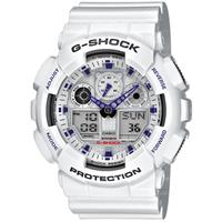Casio G-Shock GA-100A-7AER Wit