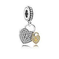 Pandora Zilveren Hangbedel 'Love Locks' 791807CZ