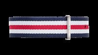 Daniel Wellington horlogeband DW00200016 Classic Canterbury Textiel Multicolor 20mm