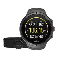 Suunto Spartan Ultra Ultra Stealth Titan HR Bluetooth Unisexchronograph in Schwarz SS022656000