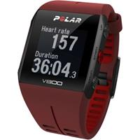Polar Red V800 Bluetooth Heart Rate Monitor GPS Smart Unisexchronograph in Braun 90060774