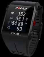 Polar Black V800 Bluetooth Heart Rate Monitor GPS Smart Unisexchronograph in Schwarz 90060770