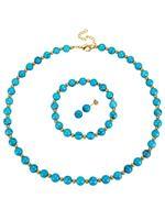 KLiNGEL Sieradenset 3-delig  turquoise