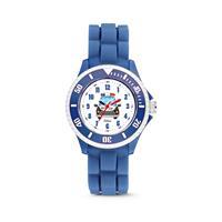 Universal kinderhorloge Politie blauw 30 mm 5-CLK086