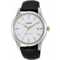 Lorus RS967BX9 Herenhorloge goud- en zilverkleurig 40 mm