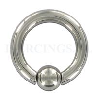 Piercings.nl BCR easyfit  4 mm dikte  16 mm diameter