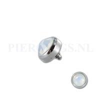 Piercings.nl Dermal balletje 1.2 mm opaal