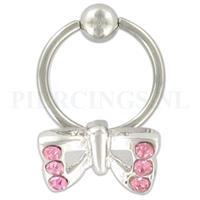 Piercings.nl BCR vlinder
