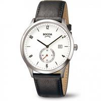 boccia 3606-01 Heren Horloge