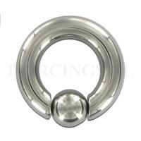 Piercings.nl BCR easyfit  5 mm dikte  12 mm diameter