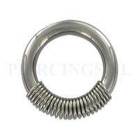 Piercings.nl BCR 3.2 mm met spiraal