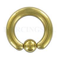 Piercings.nl BCR 4 mm goud kleur
