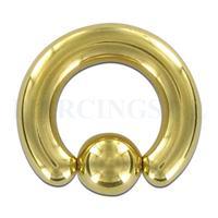 Piercings.nl BCR 5 mm goud kleur