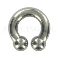 Piercings.nl Circulair barbell 6 mm x 16 mm