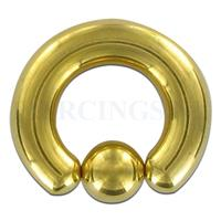 Piercings.nl BCR 6 mm goud kleur