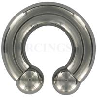 Piercings.nl Circulair barbell 10 mm x 19 mm