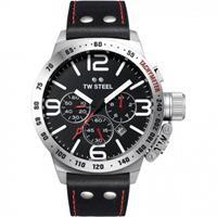 TW STEEL CS10 Canteen XXL chronograaf heren horloge 50mm