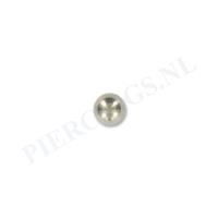 Piercings.nl Balletje 1.2 mm titanium