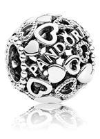 Pandora Bedel zilver  Logo 796461