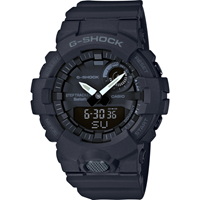 G-SHOCK G-SQUAD Analog-Digital Watch GBA-800-1A - Black