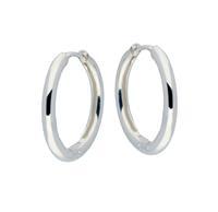 Best Basics Zilveren klapcreolen - ronde buis 2.5 mm 107.0067.20