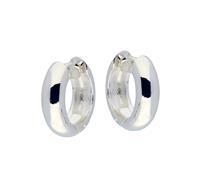 Best Basics Zilveren klapcreolen - ronde buis 5 mm 107.0069.16