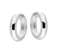 Best Basics Zilveren klapcreolen - ronde buis 5 mm 107.0069.20