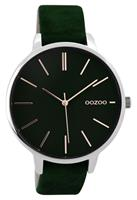 OOZOO Horloge Timepieces Collection green-silver 42 mm C9213