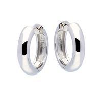 Best Basics Zilveren klapcreolen - 5 x 20 mm - ronde buis - gerodineerd 107.0265.20