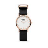 CO88 Collection 8CW-10044 - Horloge - nato band - zwart - ø 26 mm