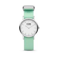 Collection 8CW-10045 - Horloge - nato band - mint groen - ø 26 mm