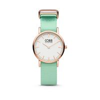 CO88 Collection 8CW-10046 - Horloge - nato band - mint groen - ø 26 mm