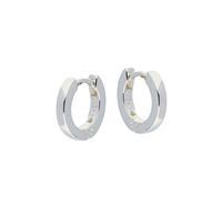 Best Basics Zilveren klapcreolen - vierkante buis 2 mm 107.0072.12