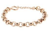 IXXXI Armband Dakar Jasseron staal rosékleurig 17-20 cm S0570199002
