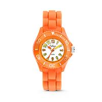 Colori kinderhorloge oranje-geel 30 mm 5-CLK013