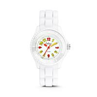 Colori kinderhorloge wit 30 mm 5-CLK018