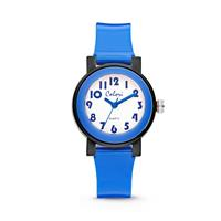 Colori Kinderhorloge Sports Time blauw-zwart 28 mm 5-CLK053