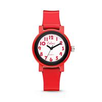 Colori Kinderhorloge Sports Time zwart-rood 28 mm 5-CLK054