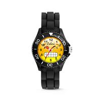 Colori kinderhorloge Happy Smile zwart 30 mm 5-CLK070