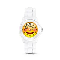 Colori kinderhorloge Happy Smile zwart 30 mm 5-CLK075