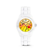 Colori kinderhorloge Happy Smile zwart 30 mm 5-CLK077