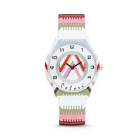 Colori Kinderhorloge Funtime strepenprint 34 mm 5-CLK037