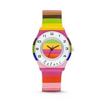 Colori Kinderhorloge Funtime strepenprint 34 mm 5-CLK038