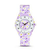 Colori Kinderhorloge Flower 34 mm 5-CLK047
