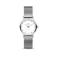 CO88 Collection 8CW-10061 - Horloge - mesh band - zilverkleurig - ø 24 mm